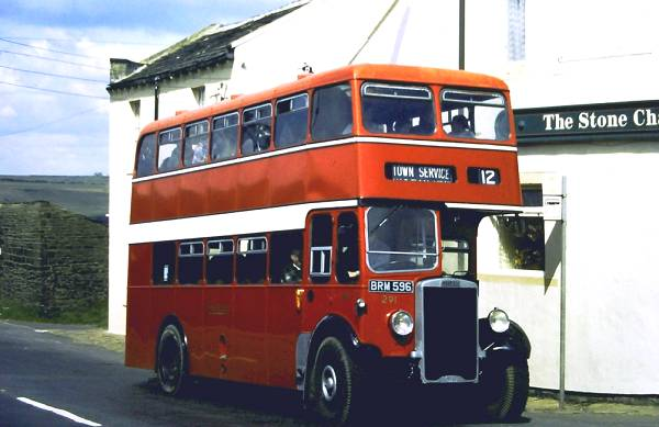 1936 Cumberland Motor Services BRM596, is a 1936 Leyland Titan TD4 which in 1948 received a new ECW body