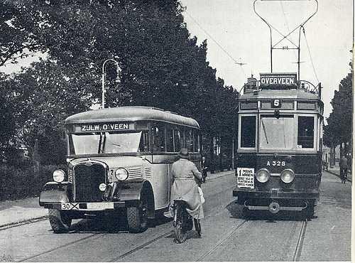 1936 Maarse en Kroon Tram-en-bus-Haarlem