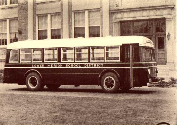 1936 Mack Lower Merion School District buses