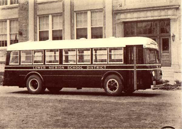 1936 Mack Lower Merion School District buses
