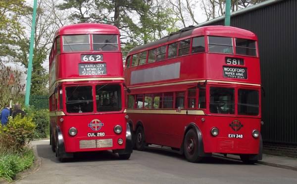 1936 Trolley met MCW body lt260a