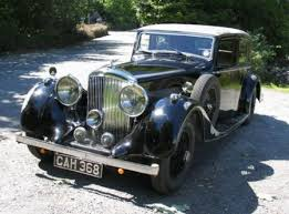 1937 Bentley 4 1-4 Litre - Mann Egerton Saloon.