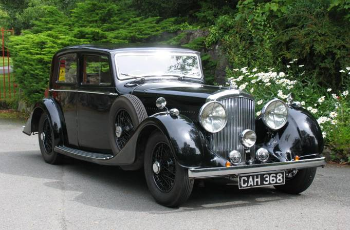 1937 Bentley 4¼ Ltr Mann Egerton Sports Saloon B41KU