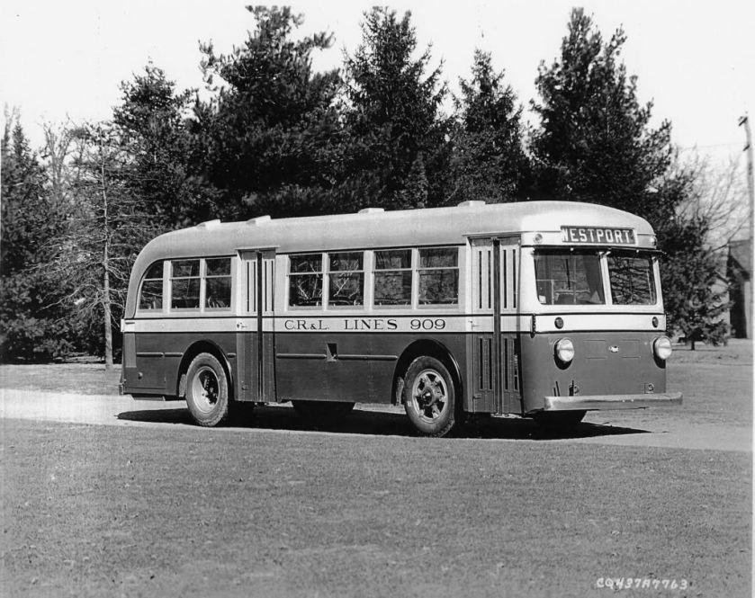1937 Mack Model 6CQ3S