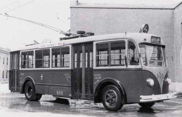 1938 Alfa Romeo 85 Filobus Carrozzato Macchi