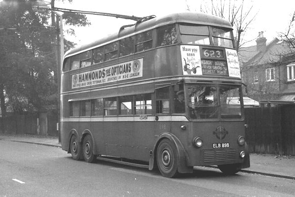 1938 London Transport 898, ELB898, an H1 MCCW