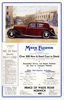 1938 Mann Egerton, Bentley