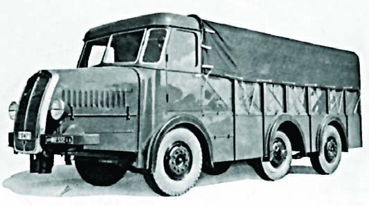 1938 Miesse 6x6 manufactured 5t military trucks with 8-cylinder row engine