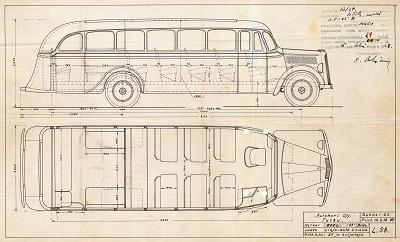 1938 Opel 183 (Blitz) Matkustajaluku 26. Autokori Oy, 10.2.1938.
