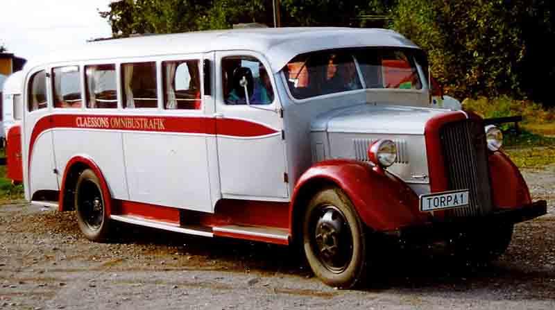 1938 Volvo LV 84 Bus