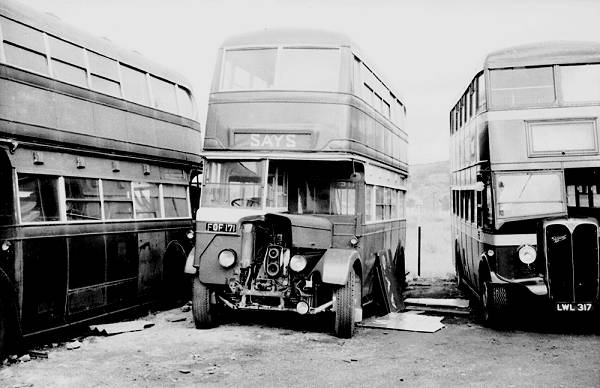 1939 Birmingham City Transport M.C.C.W. bodied Daimler COG5