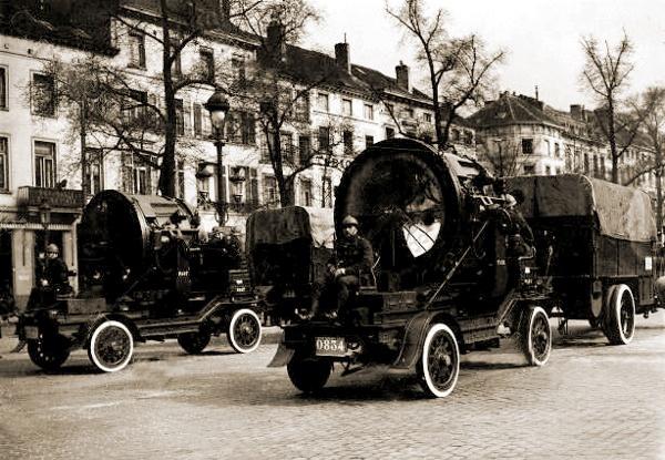 1939 Camions van het Franse merk Miesse 2DTCA