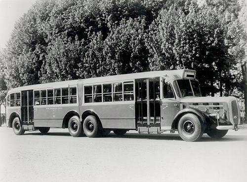 1940 Alfa Romeo Articbus Milano