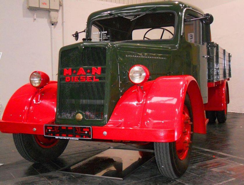 1940 MAN E 2 truck Spielvogel