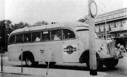 1940 Mercedes-Benz stadsbus nr.10 met karrosserie Hainje