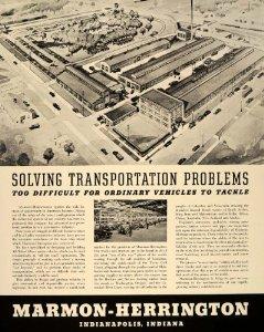 1941 Ad Marmon Herrington Factory Indianapolis Indiana