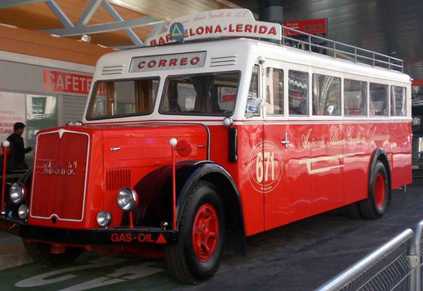 1941 MAN MP, 9498 cc, 120 Horsepower  Madrid
