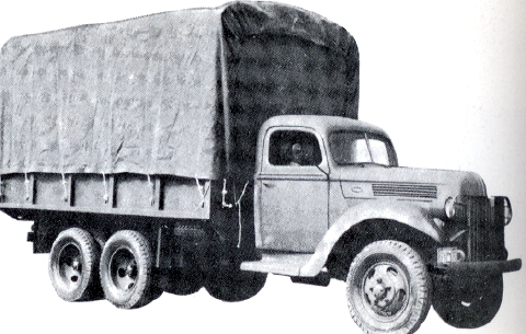 1941 Truck, 2½-ton, 6x6, Searchlight and Sound Ranging (Ford 198T-Marmon-Herrington)Ned Indië