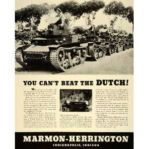 1943 Ad Marmon Herrington Indianapolis Indiana Military Trucks