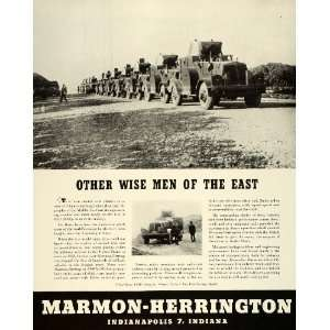 1943 Ad Marmon Herrington Indianapolis Military Vehicles