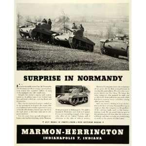1944 Ad Marmon Herrington Indianapolis Hamilcars Tank