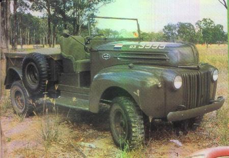 1945 Ford-Marmon-Herrington LD6-4 ½-ton 4x4 truck Nederlands Indië