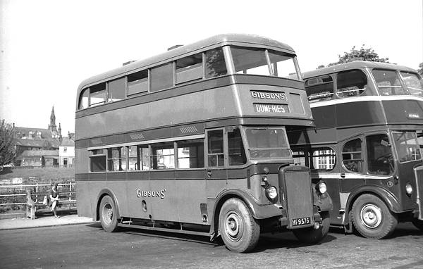 1946 Leyland PD1 with an M.C.C.W. H30-26R body