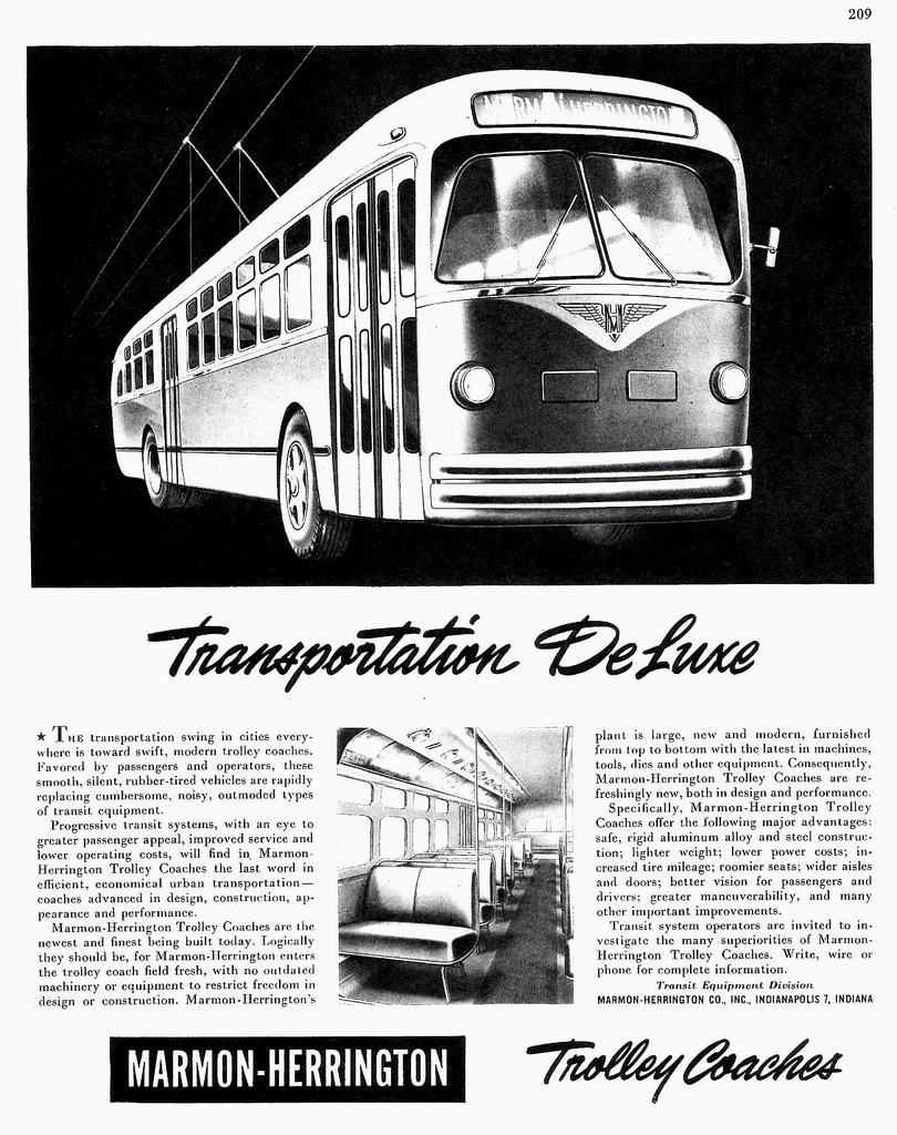 1946 Marmon-Herrington Trolley Coach