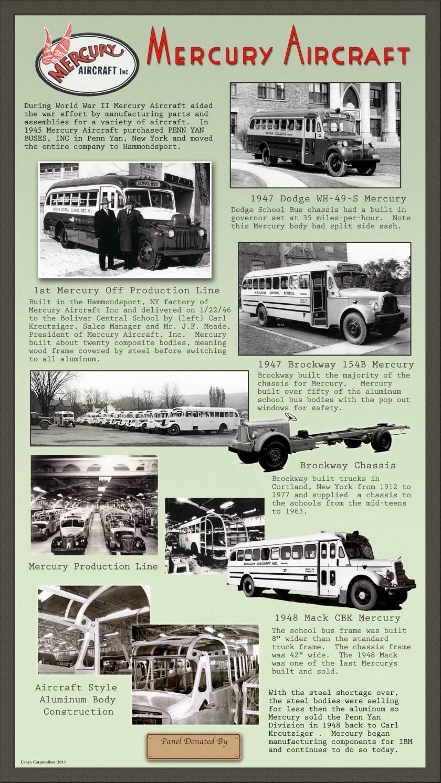 1946 Mercury Aircraft ad