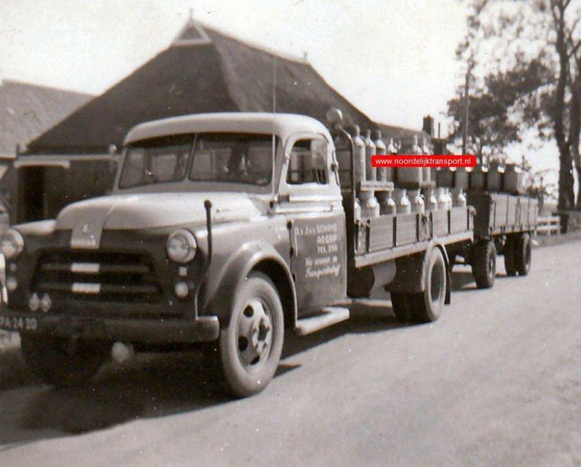 1947 Dodge Medema - Appingedam. A & J Van der Schans - Adorp. Jan van der Schans