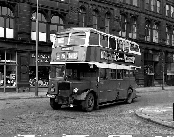 1947 Leyland PD1-3 with a Metro Cammell H32-26R body