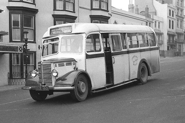 1947 Mulliner B32F bodied Bedford OB dux160