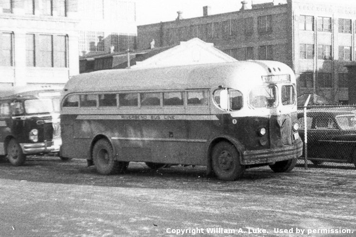 1947 Riverbend Bus Line 1, an MCI coach