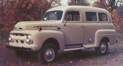 1948-1952-ford-fseries-trucks-10 Marmon-Herrington created the four-wheel-drive F-Series Ranger