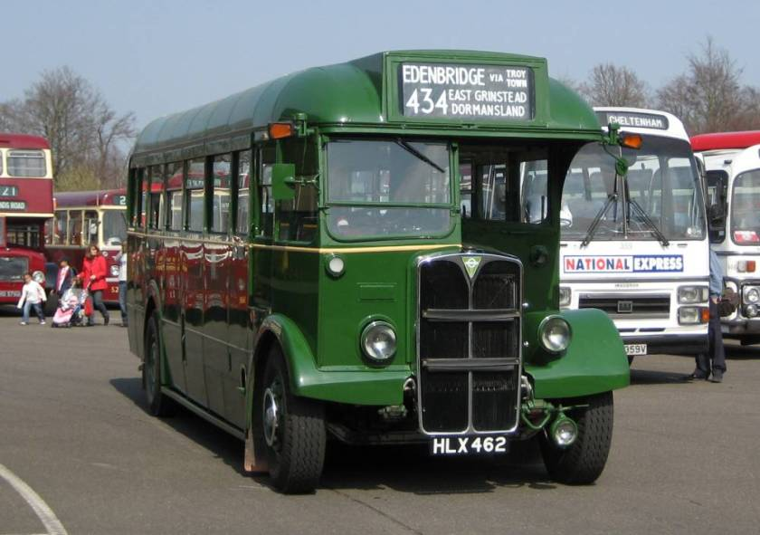 1948 AEC Regal III with Mann Egerton B31F body