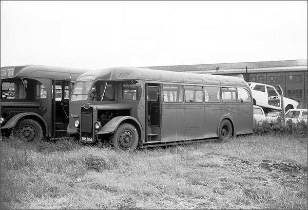 1948 Alexanders bought 20 single deck buses with Massey