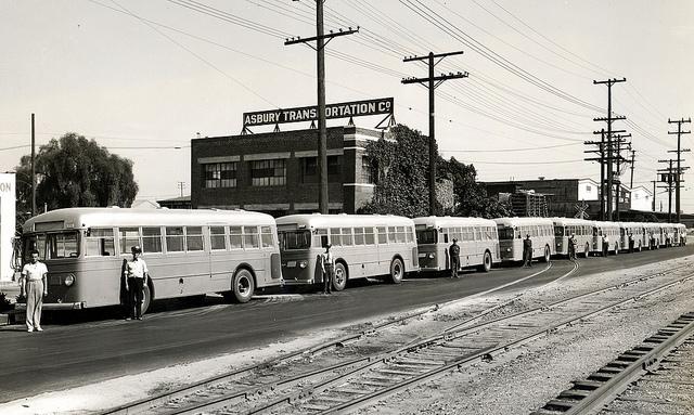 1948 Asbury Rapid Transit System Mack Buses