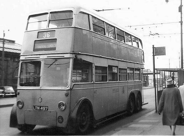 1948 BUT 9641T with Metro-Cammell body H40-30R body