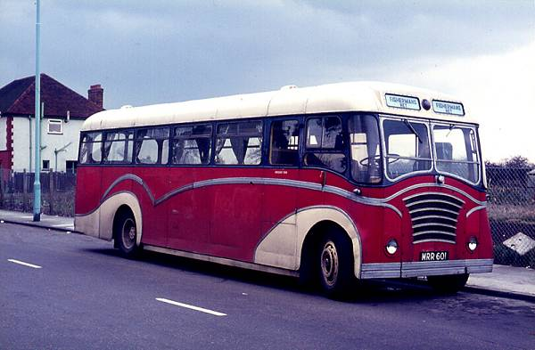 1948 JRR921, a Leyland PS1-1 with a Duple C35F body it was rebuilt in 1951, after an accident with a Massey DP43F body