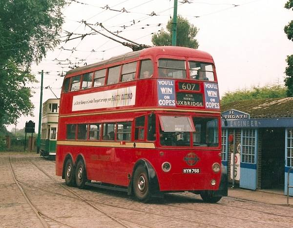 1948 London Transport 1768, HYM768, a 1948 BUT 964T161 with MCW bodywork