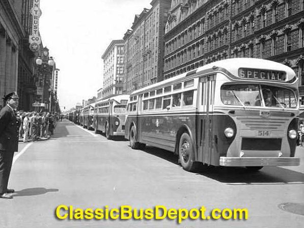 1948 Mack C-45DT Buses