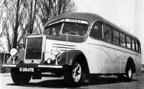 1948 Mercedes-Benz tourwagen nr. 8 met tweede karrosserie
