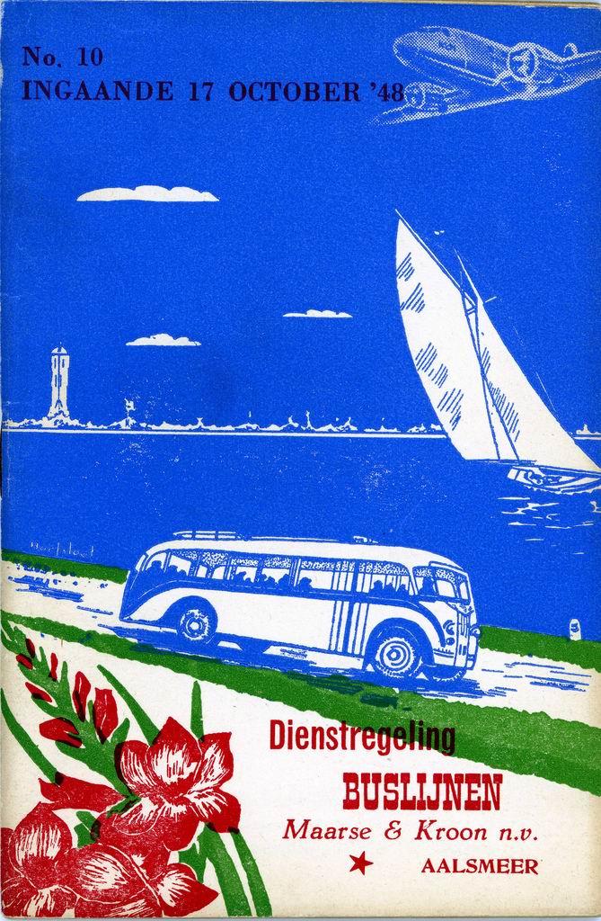 1948 MK Dienstregeling