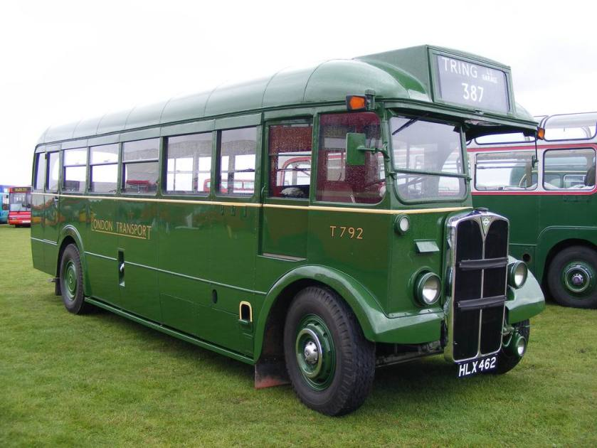 1948 T792 HLX462 AEC Regal III-Mann Egerton London Transport