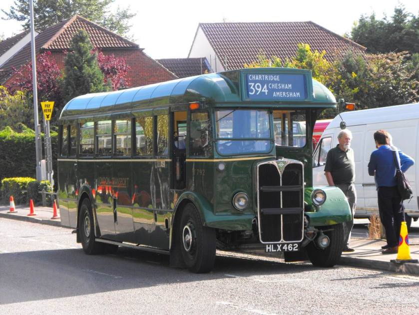 1949 AEC Regal III with Mann Egerton body, T 792, HLX 462, dating from 1949