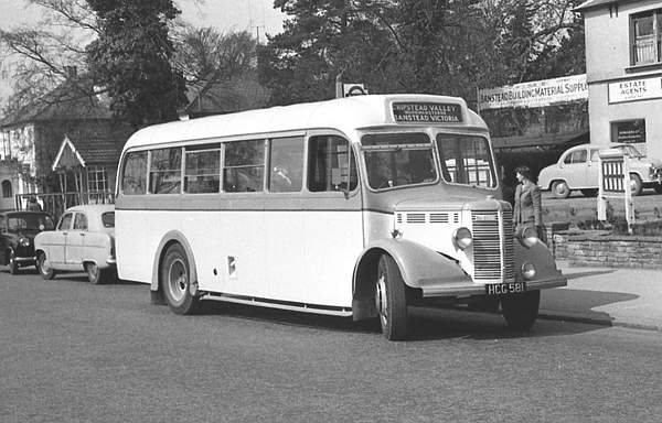 1949 Bedford OB with a Mulliner B31F body hcg581