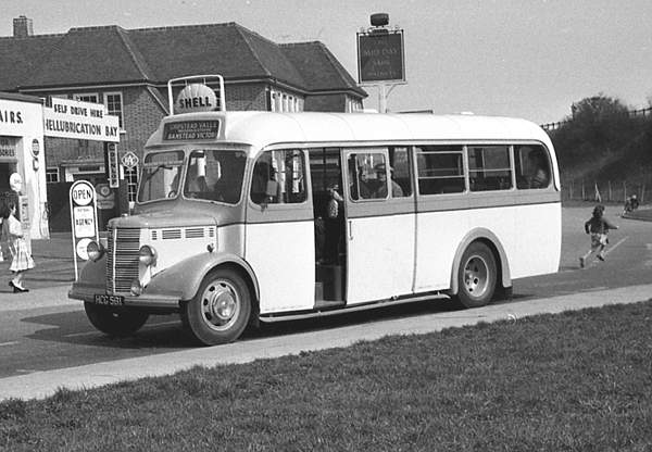 1949 Bedford OB with a Mulliner B31F body hcg581a