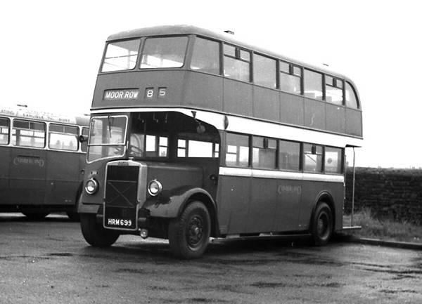 1949 Cumberland 358, HRM699, was a 1949 Leyland L27 26R bodied Leyland PD2 1