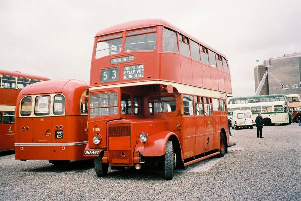 1949 Leyland PD1-3 with Metro-Cammell H33-26R body