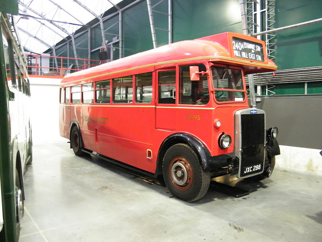 1949 Leyland Tiger PS1, Mann Egerton B30F bodied Single Decker Bus - TD95